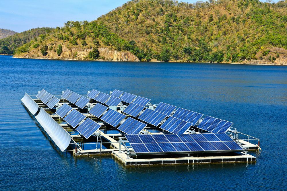 太阳能水面电站